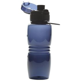 Eco - 750ml Triton Bottle With Straw - Blue