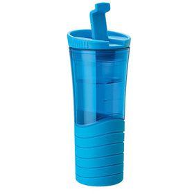 Eco - 450ml Double Wall Wavy Mug - Blue