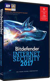 Bitdefender 2017 Internet Security 2 user (DVD Case)