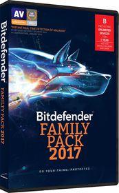 Bitdefender 2017 Family Pack (DVD Case)