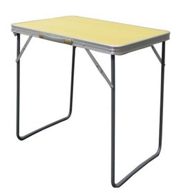Afritrail - Square Aluminium Table