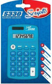 Scripto S330 Calculator - Blue