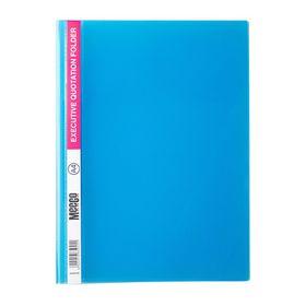 Meeco A4 Executive Quotation Folder - Blue