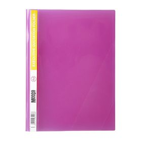 Meeco A4 Executive Quotation Folder - Pink