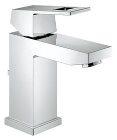 Grohe - EuroCube Pop-Up Waste Basin Tap - Regular Spout