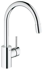 Grohe - Concetto Kitchen Tap - High Pull-Down Spray Head
