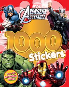 Marvel Avengers 1000 Sticker & Activity Book