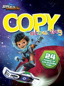 Disney Miles of TL 24 Page Copy Colour Book