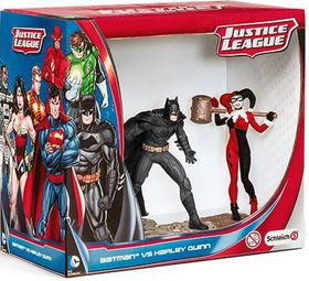 Schleich Batman Vs Harley Quinn Pack