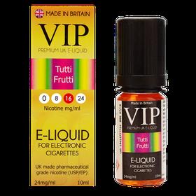 VIP E-Cigarettes 10ml Tutti Frutti - 16mg
