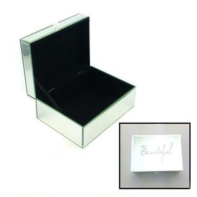 Pamper Hamper - Beautiful Large Jewellery Box- Silver