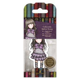 Docrafts Gorjuss Rubber Stamp - No.32 Little Violet