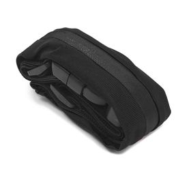 Tuff-Luv Sports Runners Elastic-Zipped Belt Pouch Waist Bag for iPhone 5/5S/SE/5c - Black
