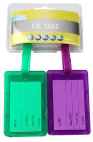 Motoquip Luggage Tag Kit - 2 Piece