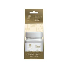 Couture Creations Anna Griffin Texture Paste - White Finish (250ml)
