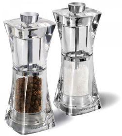 Cole & Mason - Precision Crystal Acrylic Salt & Pepper Mill - Gift Set - 12.5cm