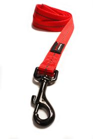 Dog's Life - Reflective Super soft Webbing Leash - Extra-Large - Red