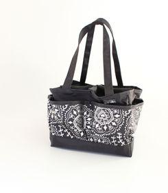 Spoilt Rotten Large Bag - Doodle Delight - Silver