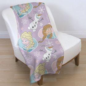 Disney Frozen Crystal Rotary Fleece Blanket