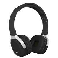 Foldable Nfc Bluetooth 4.1 Headset Smart Pedometer Sports Headphone - Black