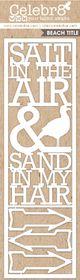Celebr8 SANDsational Lanki Card - Salt in the Air