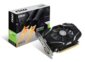 MSI GeForce GTX 1050 OC Graphics Card - 2GB