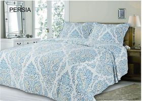 Simon Baker - Quilted & Printed Persia Comforter Set