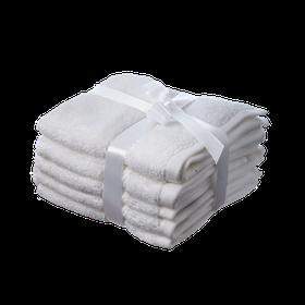 Simon Baker - 100% Egyptian Cotton Hand Towel - White