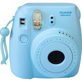Fujifilm Instax Mini 8 Camera Value Bundle - Blue
