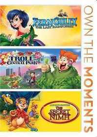 Ferngully/Troll in Central Park/Secre - (Region 1 Import DVD)