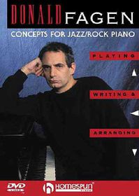 Donald Fagen - Concepts for Jazz/Rock Piano - (Region 1 Import DVD)
