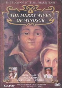 Merry Wives of Windsor - (Region 1 Import DVD)