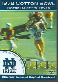 1978 Notre Dame Vs Texas - (Region 1 Import DVD)