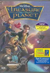 Treasure Planet - (Region 1 Import DVD)