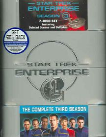 Star Trek:Enterprise Season 3 - (Region 1 Import DVD)