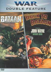 Bataan/Back to Bataan - (Region 1 Import DVD)