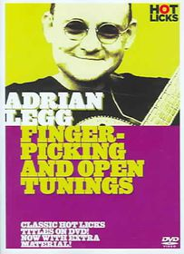 Adrian Legg:Fingerpick & Open Tuning - (Region 1 Import DVD)