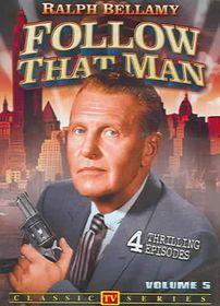 Follow That Man Vol 5 - (Region 1 Import DVD)