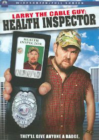 Larry the Cable Guy:Health Inspector - (Region 1 Import DVD)