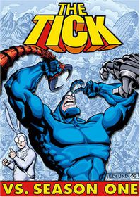 Tick vs Season One - (Region 1 Import DVD)