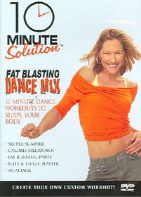 10 Minute Solution: Fat Blasting Dance Mix - (Region 1 Import DVD)