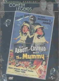 Abbott & Costello Meet the Mummy - (Region 1 Import DVD)