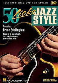 50 Licks Jazz Style - (Import DVD)