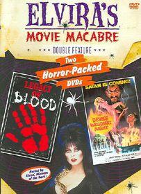 Elvira's Movie Macabre - Legacy of Blood/The Devil's Wedding Night - (Region 1 Import DVD)