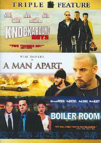 Man Apart/ Boiler Room/ Knockaround Guys - (Region 1 Import DVD)