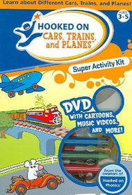 Hooked on Cars, Trains and Planes Super Activity Kit - (Region 1 Import DVD)