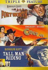Colt 45/Fort Worth/Tall Man Riding - (Region 1 Import DVD)