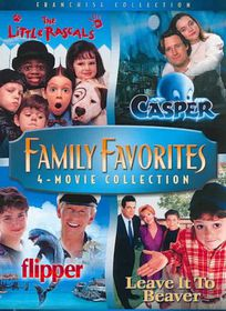 Family Favorites 4 Movie Collection - (Region 1 Import DVD)