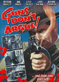 Guns Don't Argue - (Region 1 Import DVD)