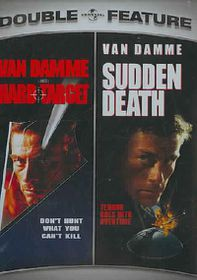 Hard Target/Sudden Death - (Region 1 Import DVD)
